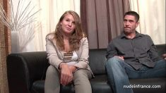 French Chubby Blonde Casting
