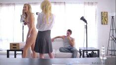 Alexa Grace, Odette Delacroix Casting Porno