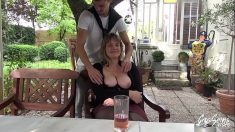 Busty Mature French Delphine Casting Porno