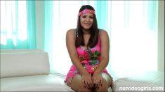 Cute Busty Teen Casting Porno