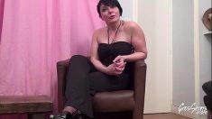 French Milf Lilie Casting Porno