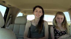 ExploitedCollegeGirls Charlotte & Chloe Threeway Casting Porno