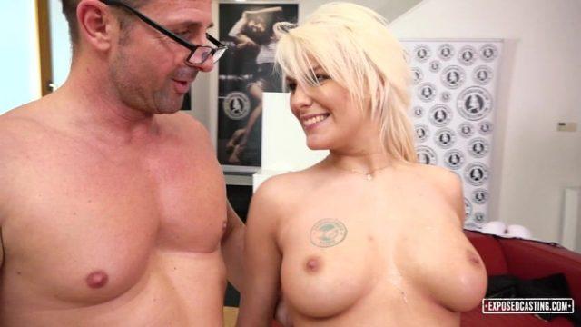 ExposedCasting Lucy Shine Casting Porno
