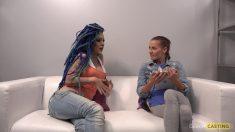 CzechCasting Lady Blue Casting Porno