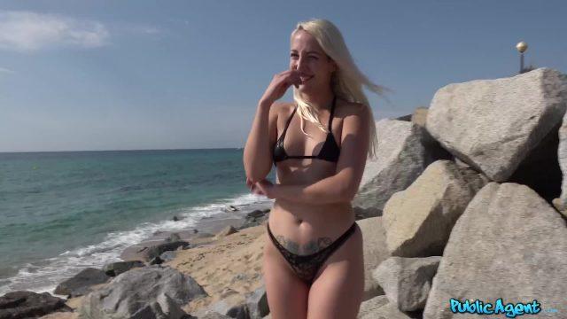 PublicAgent Liz Rainbow Casting Porno