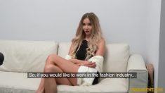FakeAgent Polina Max Casting Porno